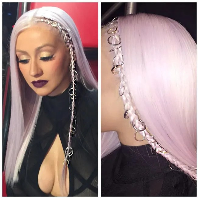 Christina Aguilera Has Gone For A Major Hair Makeover