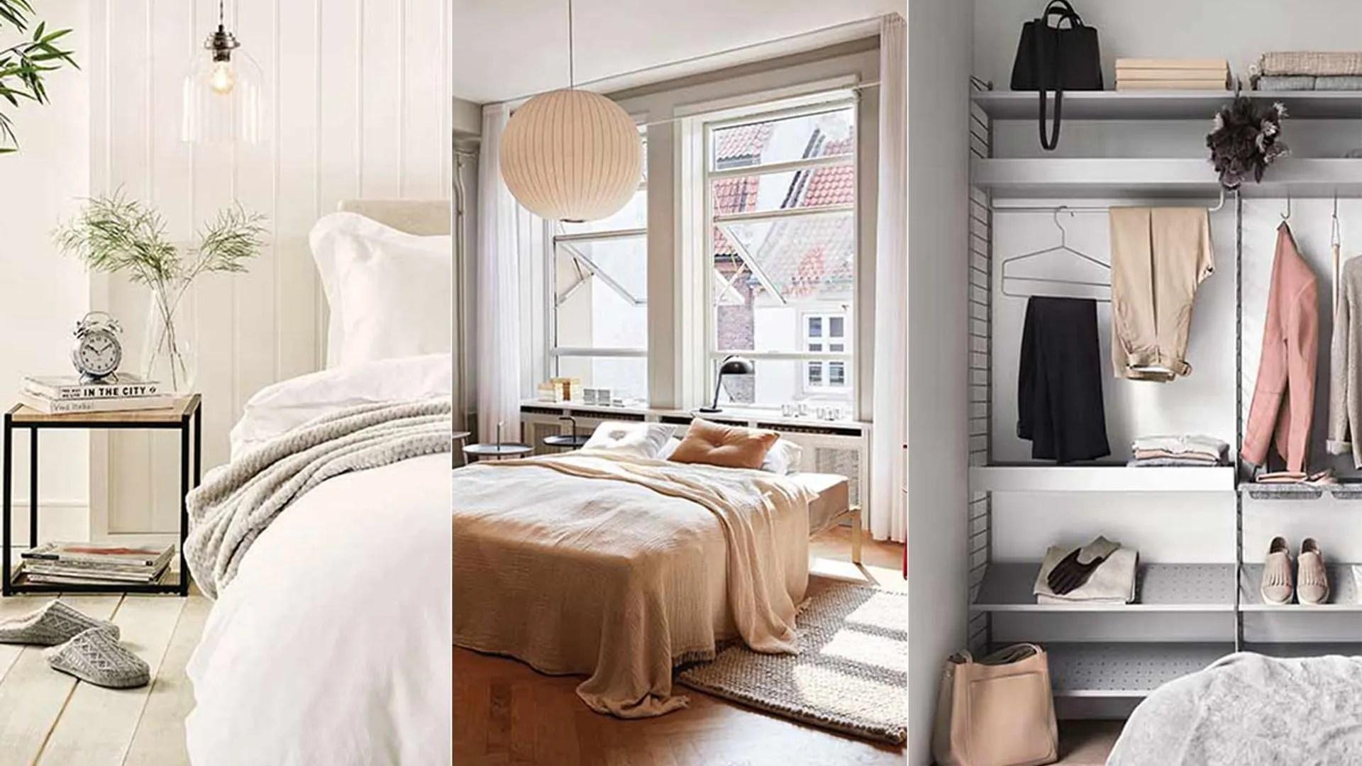 8 minimalist bedroom ideas for a stylish space | HELLO! on Bedroom Minimalist Ideas  id=58590