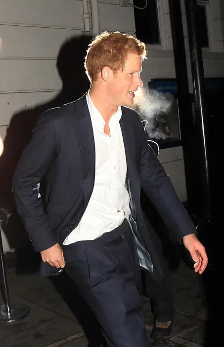 Prince Harry and Chelsy Davy party together in London | HELLO!