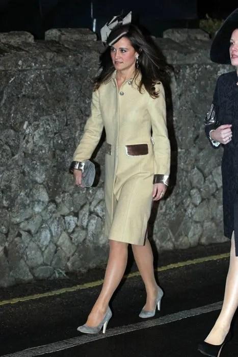Pippa Middleton Attends Wedding Of University Friends