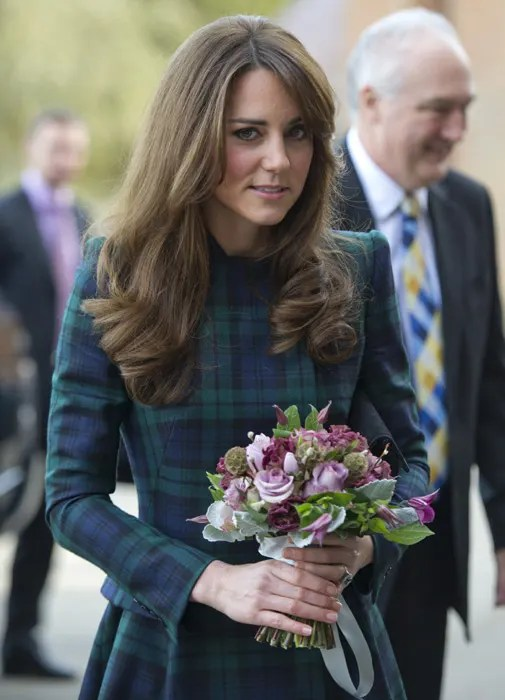 Kate swings back into action as she returns to St Andrew's ...