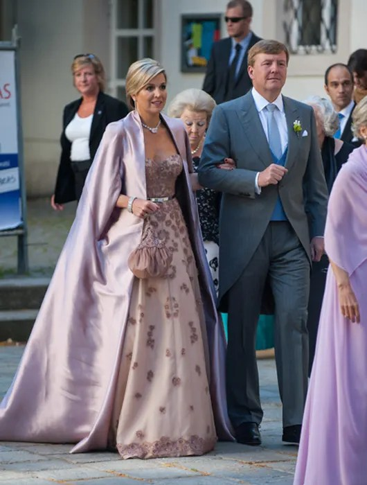 Queen Maxima Of The Netherlands Wows At Brothers Wedding