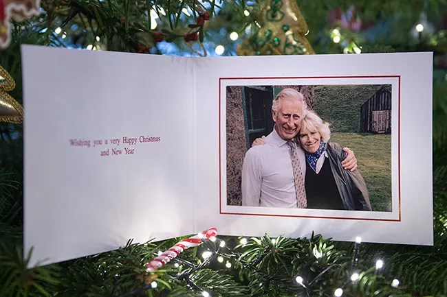 Prince Charles And Camillas Sweetest Christmas Card Ever