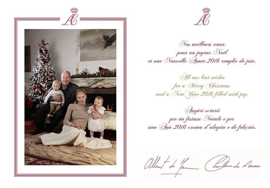 Royal Christmas Cards Of 2015 Photo