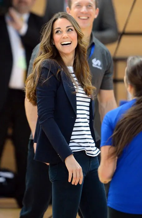 Kate Middleton Celebrates SportsAids 40th Birthday HELLO