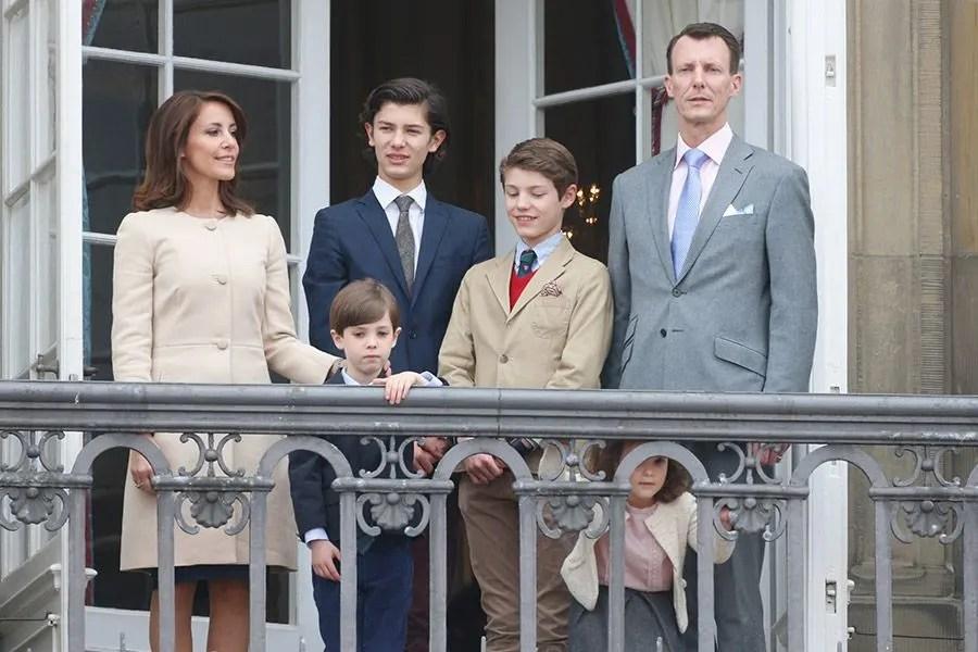 Danish Royals Celebrate Queen Margrethes 76th Birthday