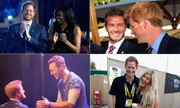 Prince Harry and his famous friends | HELLO!