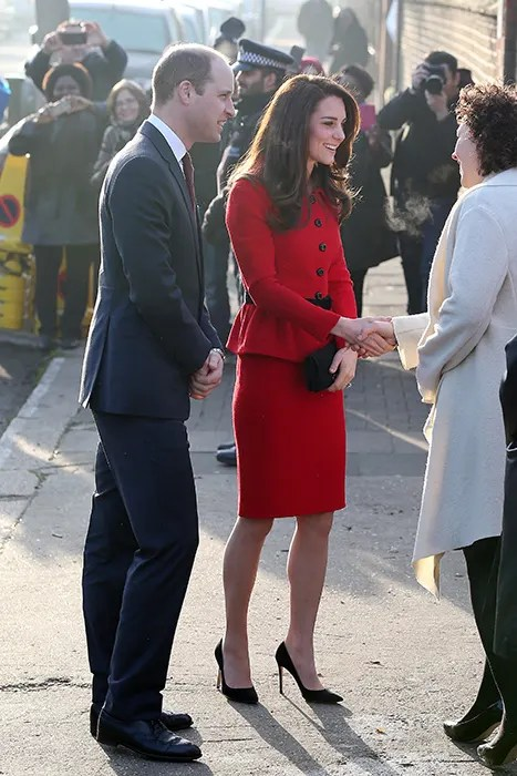 Kate Middleton and Prince William visit school for mental ...