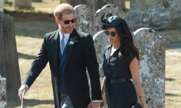 Prince Harry and Meghan Markle were separated on her ...