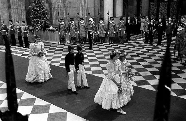 Princess Diana bridesmaids