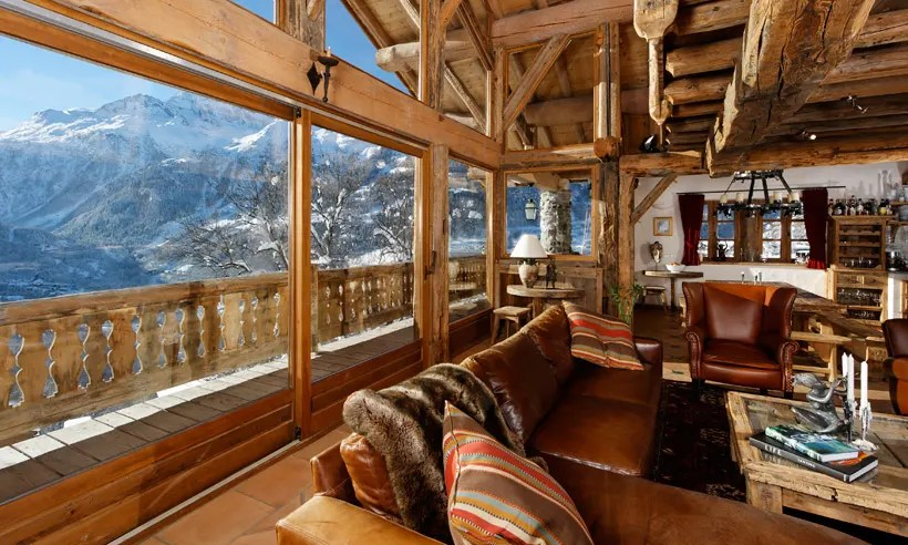 Chalet Merlo Living The High Life In The French Alps