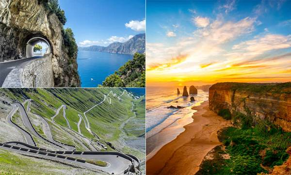 Road trips: Top 20 drives of the world | HELLO!