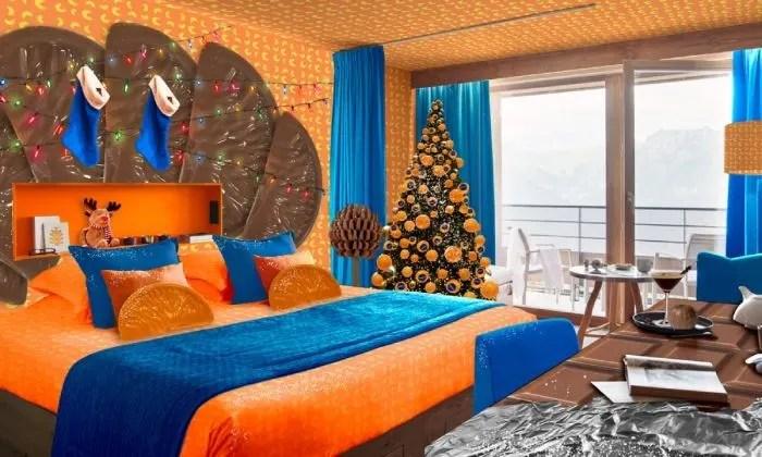 chocolate orange room d