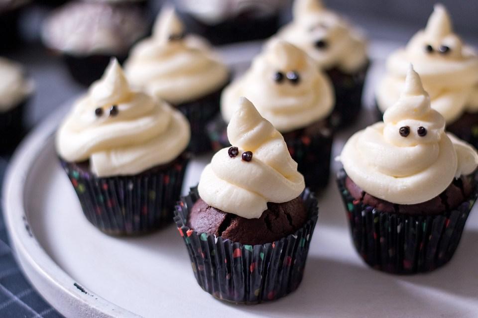 Halloween-Schokomuffins