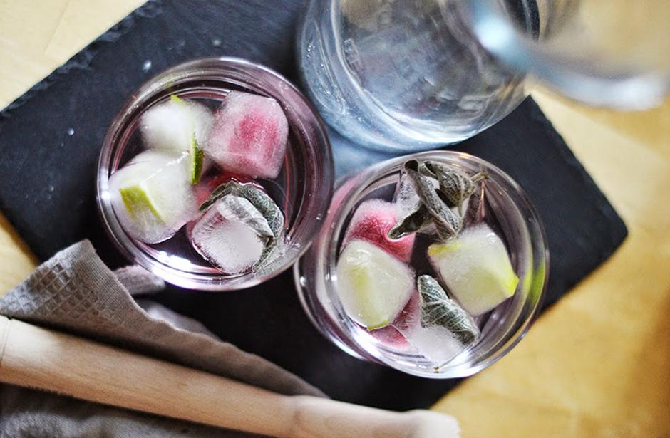 Tipsy Tuesday: Selbstgemachte Eiswürfel mit Früchten