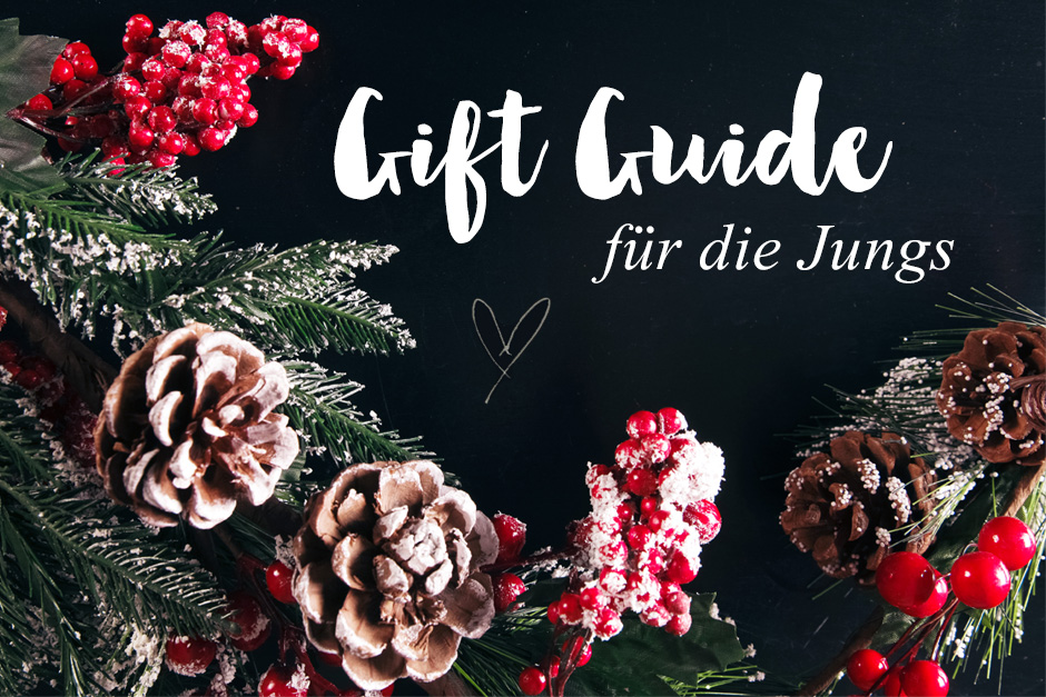 Christmas Gift Guide for the boys Weihnachten Style Sandbox Fashionblog