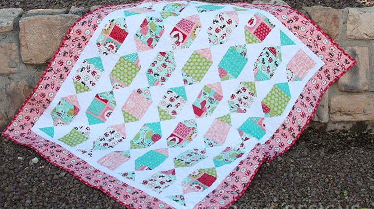 Sparkle Baby Quilt
