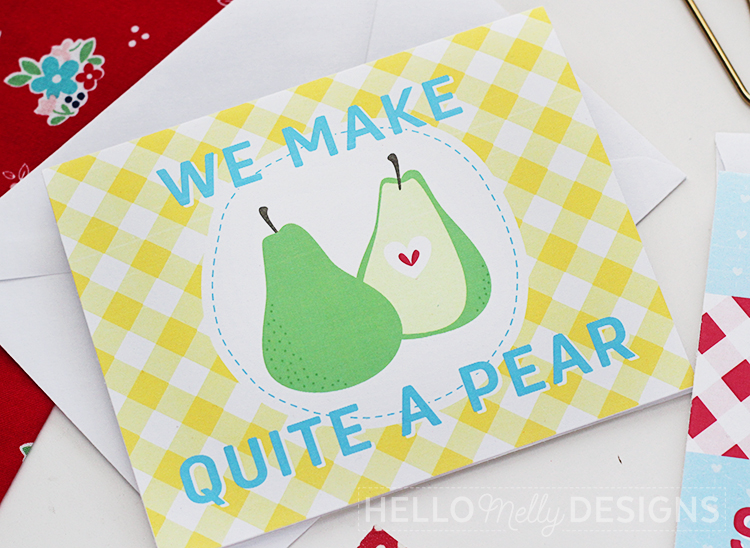 Quite a Pear Valentine