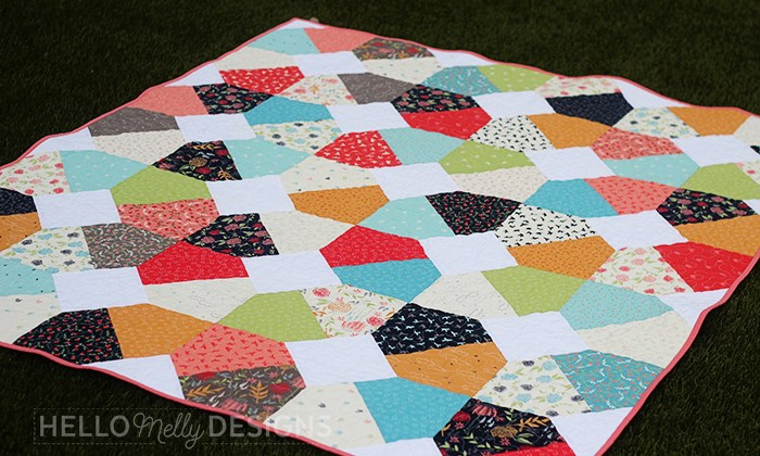 Broken Lattice Free Quilt Pattern