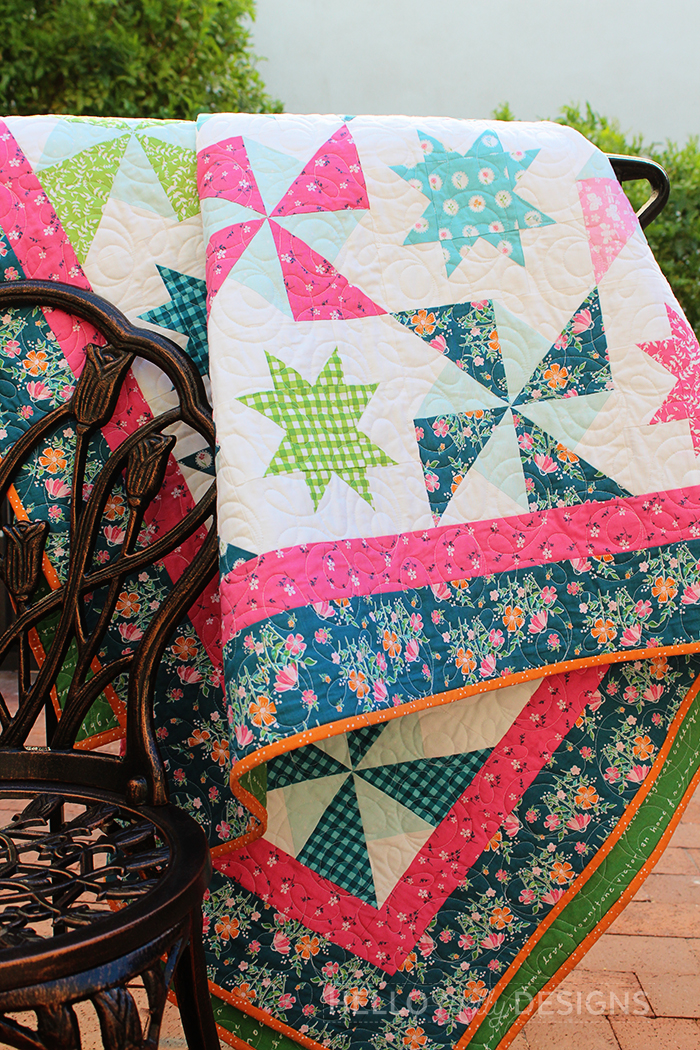 Hello Melly Designs Play Date Quilt Pattern