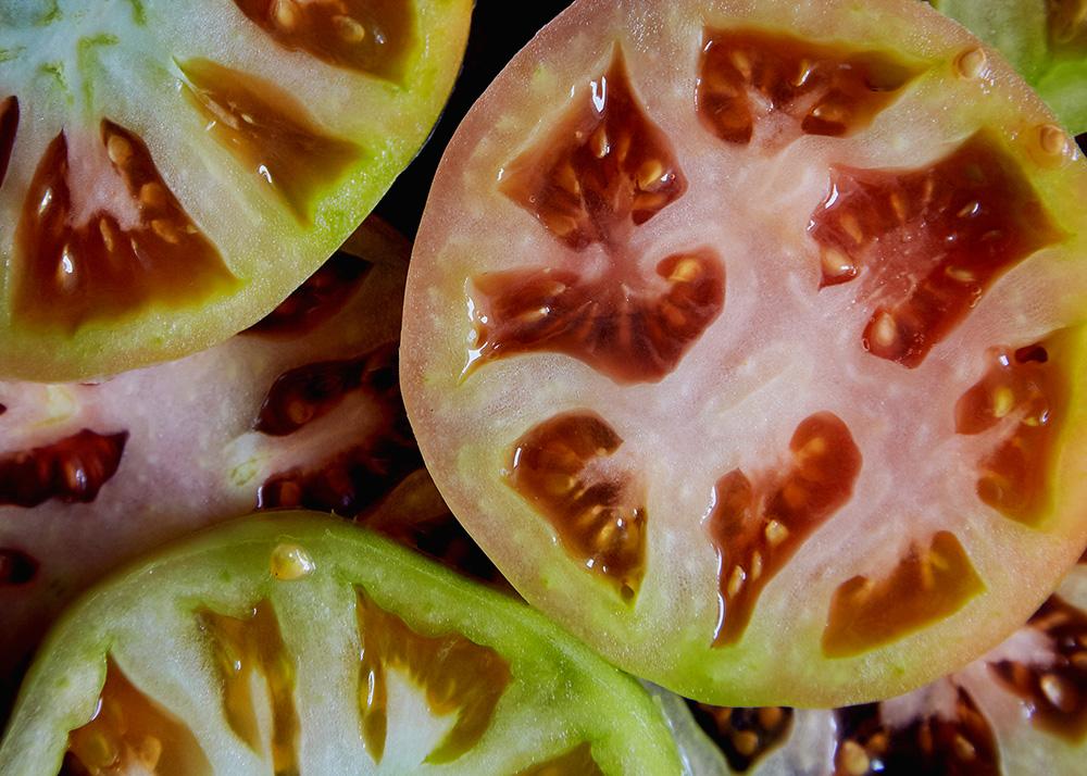 Sichuan BLT w/5 Spice Bacon + Fried Green Tomatoes | Hello My Dumpling