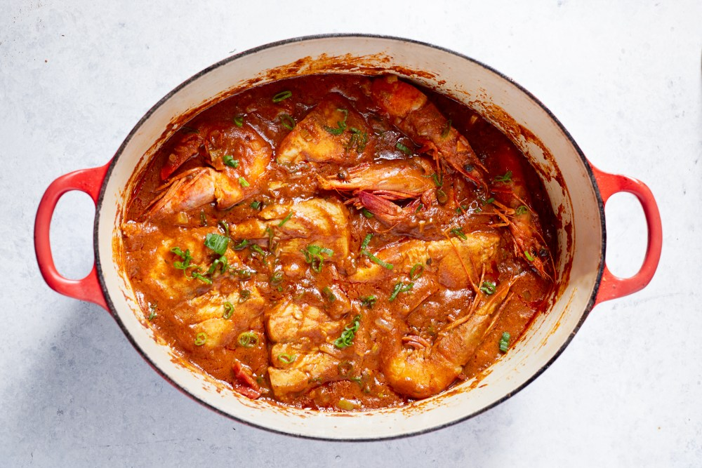 Creole Seafood Stew (Courtbouillon) | Hello My Dumpling