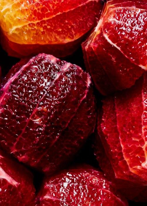 Blood Orange Barramundi Carpaccio | NY Based Photographer Jenny Huang