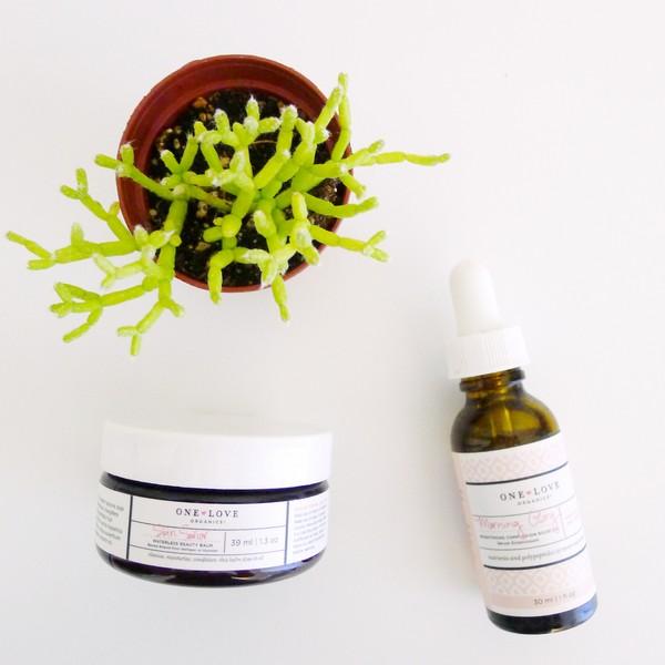 One Love Organics Natural Skin Care Skin Savior Beauty Balm Morning Glory Serum Hello Nance