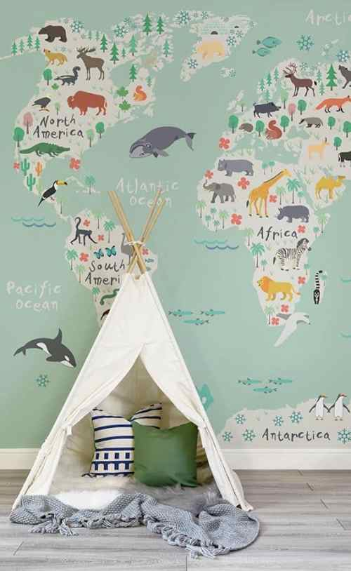 baby nursery decor Sweet Nursery Ideas Hellonance.com