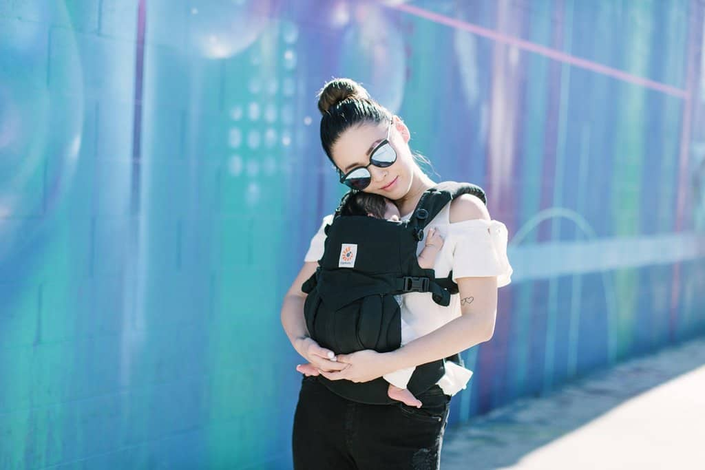 Exclusive First Look at the New Ergobaby Omni 360 Baby Carrier