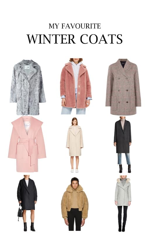 My Favourite Winter Coats