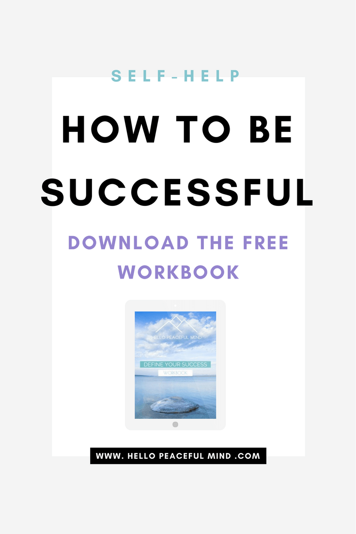 Absolutely in love with this workbook! I finally took the time to sit down and reflect on how I can become successful. You can also change your life by downloading it too.