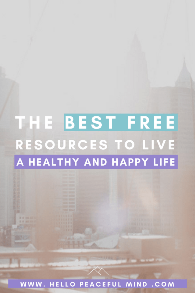 Find out the best resources to become happier and healthier.