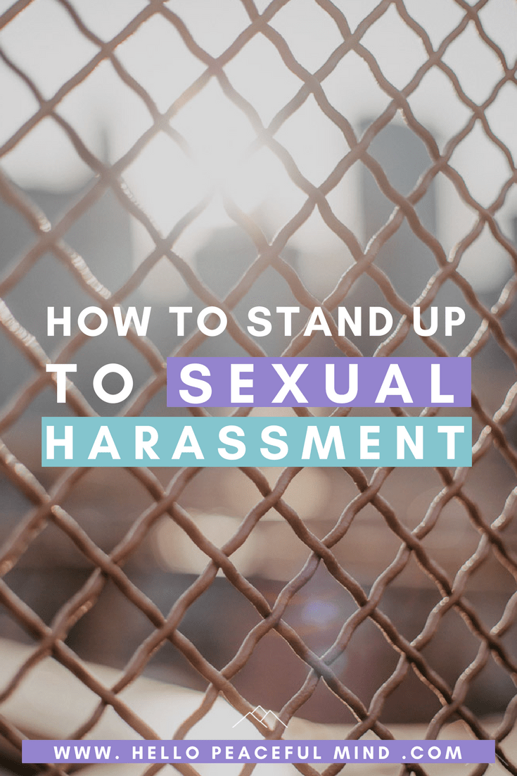 Learn how you can stand up to sexual harassment with these 4 stories. This guide will help men and women.