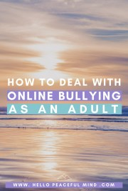 How To Deal With Online Bullying As An Adult