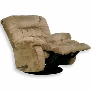 Catnapper Teddy Bear Saddle Chaise Glider Recliner