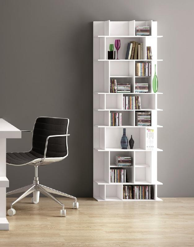 temahome bibliotheque murale design panorama high blanche