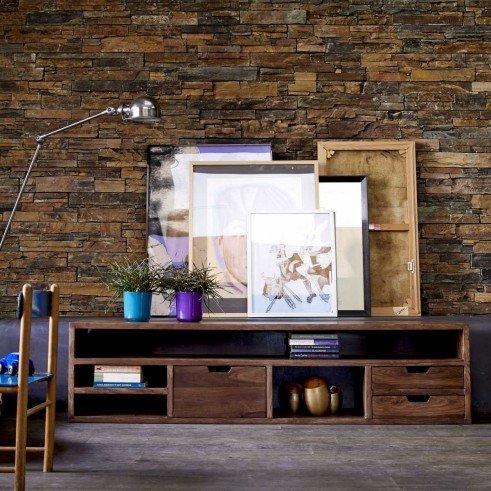 meuble tele en palissandre 170 kwarto