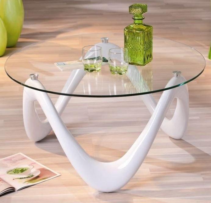 table basse design valentine en verre