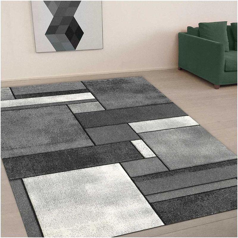 un amour de tapis tapis salon moderne design geometrique poils ras petit tapis salon rectangulaire tapis chambre turquoise tapis gris 80x150