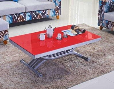 table basse form relevable extensible