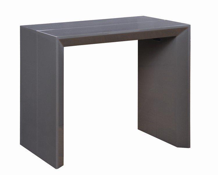 console extensible en table repas