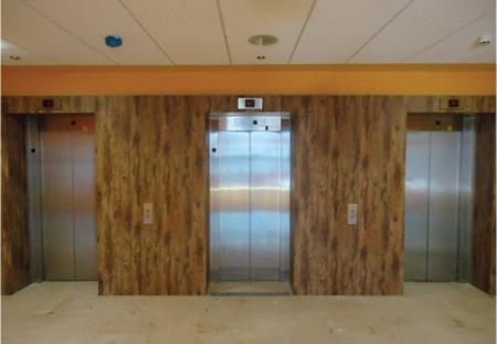 revetement adhesif pour ascenseurs