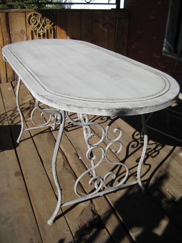 Table Jardin Ancienne Fer Forge Des Id Es Int Ressantes