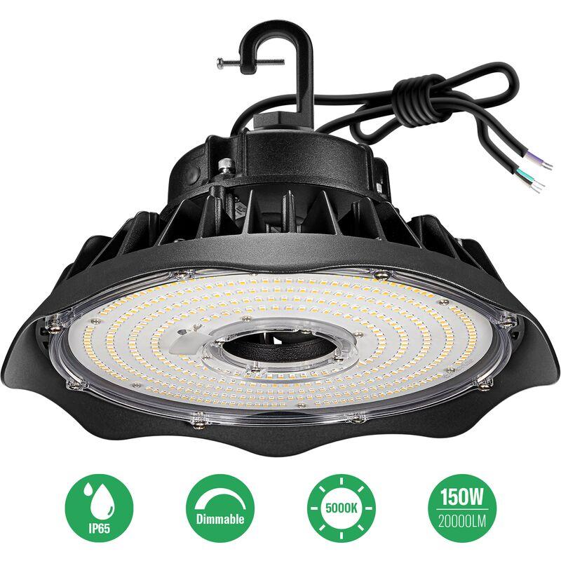 anten 150w ufo projecteur led dimmable projecteur led d eclairage industriel suspension ip65 phare de travail spot lumiere exterieur et inderieur