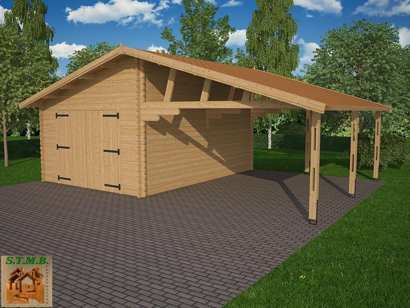 Garage Bois 2 Voitures En Kit Infos Et Ressources