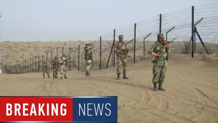 Indo-Pak border, Kailash post, bsf, Border Security Force,
