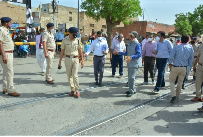 Churu Sadulpur Nohar rail route, Electric trains, Indian Railway,