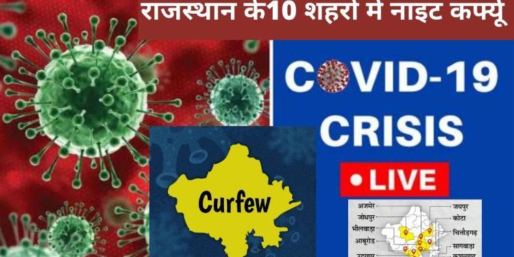 Rajasthan covid-19 guidelines, Rajasthan Covid night curfew, COVID-19 Rajasthan, Night Curfew rajasthan, Rajasthan night curefew timings, Rajasthan Night Curfew News, guidelines for Covid-19, night curefew,