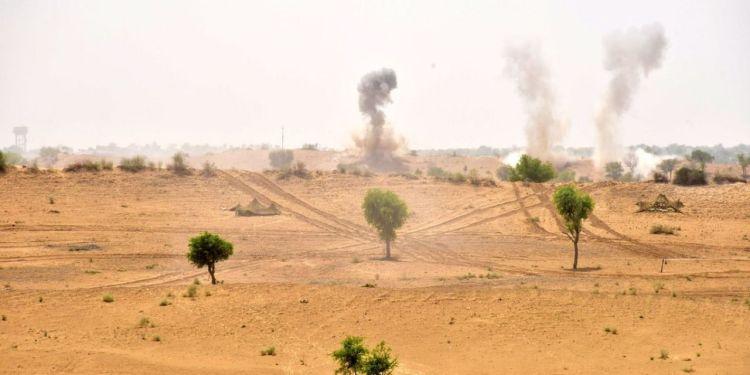 Army News, Mahajan field firing range, firing range, Bikaner Mahajan field firing range, Indian Army,